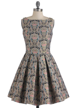 Classic Stunner Dress in Brocade