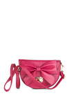 Pretty in Pomegranate Bag - Pink, Solid, Bows, Girls Night Out