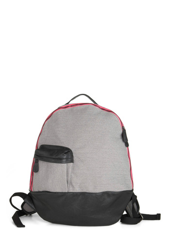 Wild Streak Backpack - Grey, Pink, Black, Pockets, Casual, 80s, Urban, Scholastic/Collegiate, Tis the Season Sale