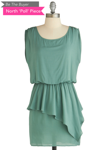 Sample 1968 - Green, Solid, Party, Sheath / Shift, Sleeveless, Pastel