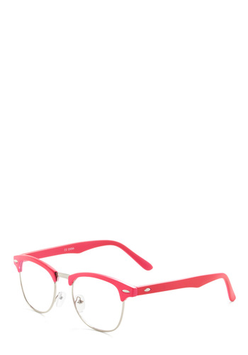 I Sky Glasses in Pink - Pink, Solid, Casual, Vintage Inspired, 90s