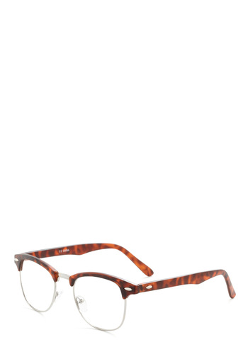 I Sky Glasses in Tortoiseshell - Brown, Solid, Casual, Vintage Inspired