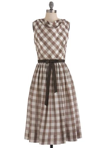 Vintage Crepe Date Dress