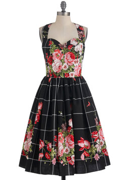 Hide in the Hydrangeas Dress in Pink Noir