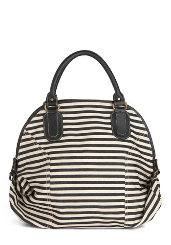 How Striped Is Now? Bag - Black, White, Stripes, Casual, Nautical, Travel, Top Rated