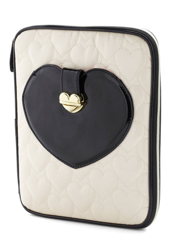 Betsey Johnson Love to Shop iPad Sleeve by Betsey Johnson - Work