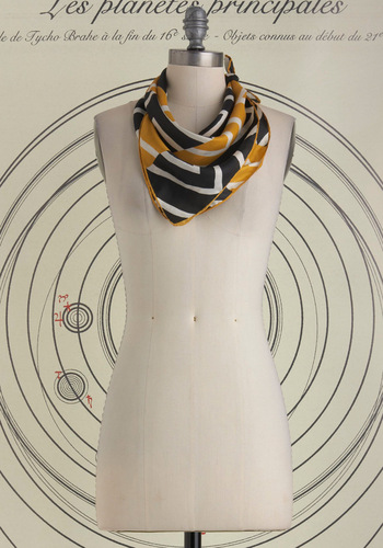 Vintage A's and Bees Scarf