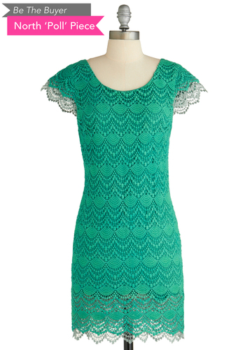 Sample 2009 - Green, Backless, Crochet, Party, Sheath / Shift, Cap Sleeves, Cocktail