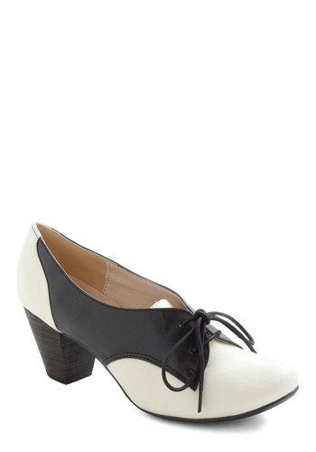 Soft Serve Heel in Black