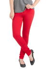 Nobody But You Jeans - Red, Solid, Pockets, Casual, Fall, Long, Skinny, Denim