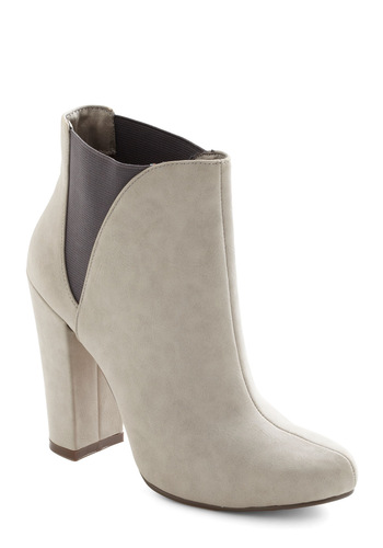 Ferry Weather Friend Boot - White, Black, Party, Urban, Faux Leather, High
