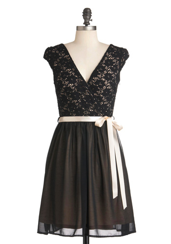 Champagne at Midnight Dress