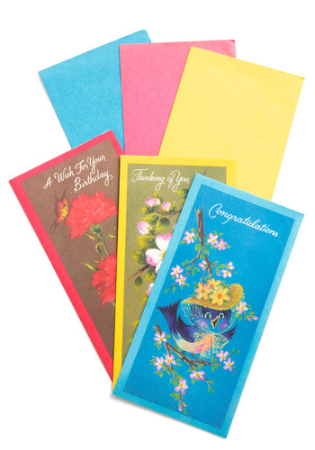Vintage Write of Passage Card Set