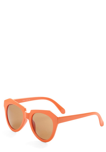 Simply the Zest Sunglasses - Orange, Casual, Beach/Resort