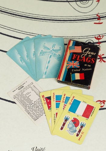 Vintage Diplomatic Deal Cards
