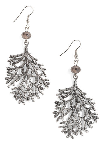 I'm a Twig Fan Earrings - Silver