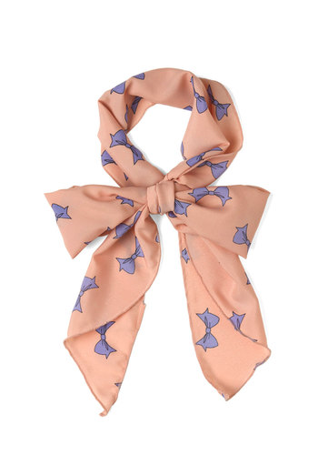 Bow with It Scarf - Purple, Pastel, Pink