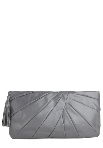 Vintage In Grey Demand Clutch