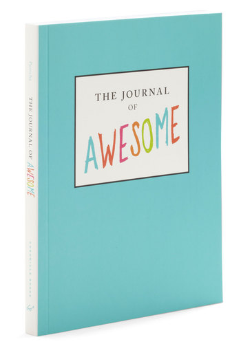 The Journal of Awesome by Chronicle Books - Multi