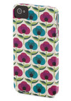 Home Gardening Hotline iPhone Case - White, Green, Blue, Pink, Floral, Mod