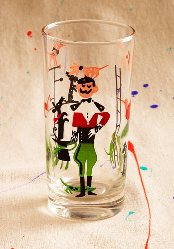 Vintage Loyal-tea Party Glass