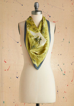 Vintage Scene Together Scarf