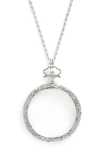 Looking Forward to It Necklace - Silver, Fairytale, French / Victorian, Scholastic/Collegiate