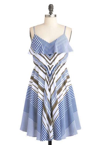 Sailboat Showcase Dress