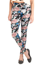 You've Got it Down Pattern Pants in Blossoms