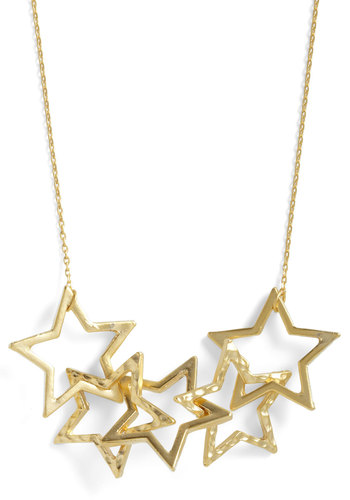 Few and Star Between Necklace - Gold, Girls Night Out