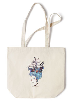 Art's Devotion Tote by Claire Oring