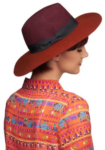 Tri a Taste Hat - Casual, Boho, Rustic, Colorblocking