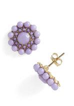 My Own Rendition Earrings in Lavender