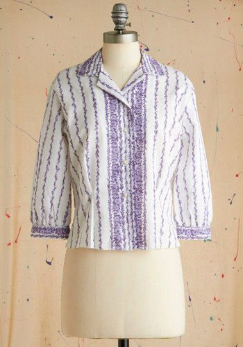 Vintage Poised Perfumer Top