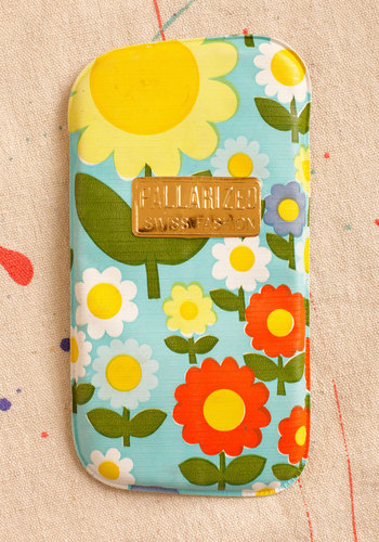 Vintage Eyes and Shine Glasses Case