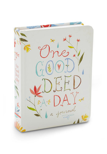 One Good Deed a Day Journal by Chronicle Books - Multi, Graduation