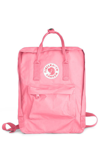 Wherever You Wander Backpack in Pink by Fjällräven - Pink, Solid, Pockets, Casual, Urban, Travel, Pastel