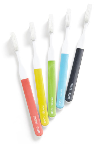 Pearly Brights Toothbrush Set - Multi, Dorm Decor, Minimal, Mod