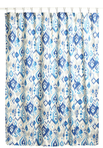 AM Oasis Shower Curtain