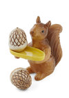 Nuts About Entertaining Shaker Set - Brown, Vintage Inspired, Yellow, Solid