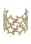 Star-Bangled Glamour Bracelet - Gold, Casual, Girls Night Out
