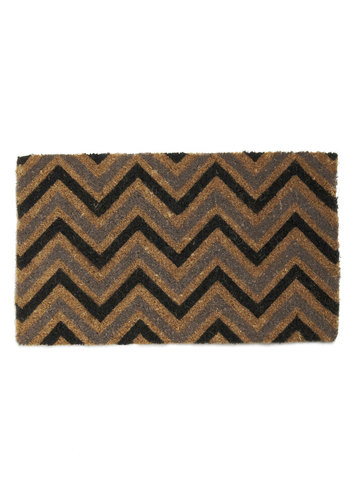 Trend of the Block Doormat - Multi, Vintage Inspired, Dorm Decor, Mid-Century, Minimal, Print