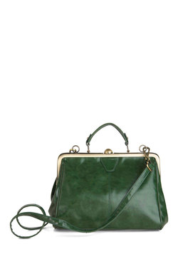 Believe It or Not Bag in Emerald
