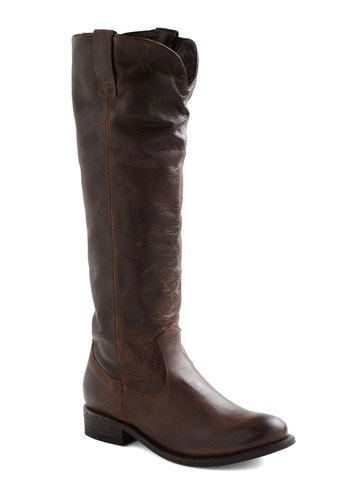 Every Day Trip Boot by Dolce Vita - Brown, Solid, Casual, Safari, Fall, Leather, Low