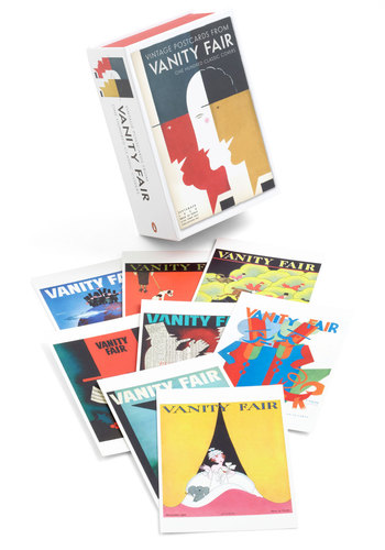 Notable and Quotable Postcards in Vanity Fair by Penguin Books - Multi, Vintage Inspired, Multi