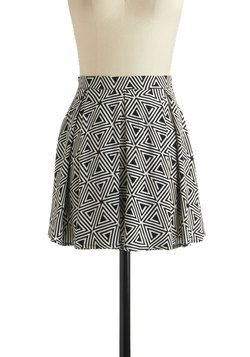 Maybe I'm a Maze Skirt