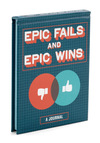 Epic Fails and Epic Wins Journal by Chronicle Books - Multi, Dorm Decor