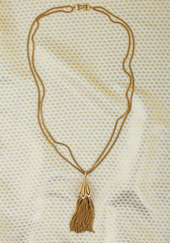 Vintage Chain of Pace Necklace