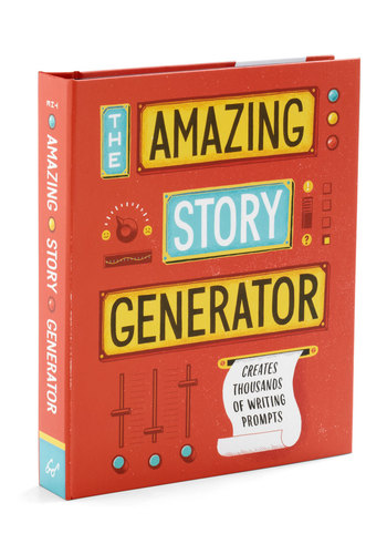 The Amazing Story Generator by Chronicle Books - Multi, Scholastic/Collegiate, Good
