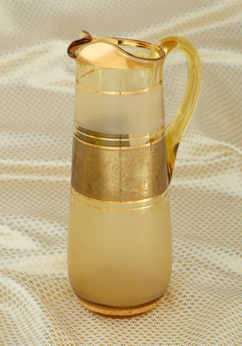 Vintage Drizzle of Dazzle Pitcher